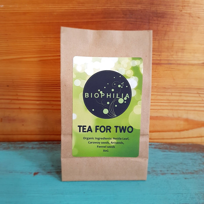 Biophilia Loose Leaf Tea- 'Tea For Two', 80g