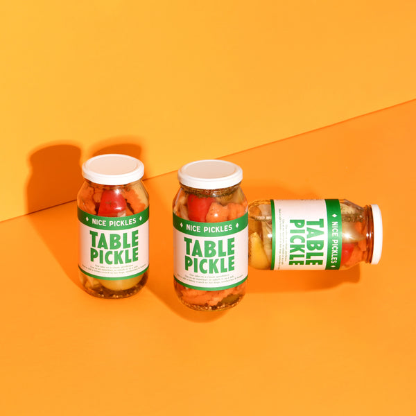 3 x Table Pickle