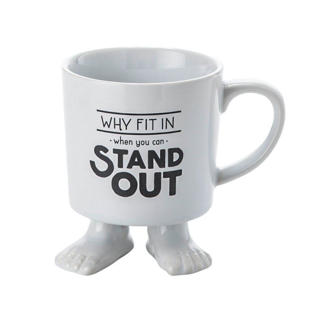 Ceramic Footed Mug | Stand Out! Footed Mugs Dylan Kendall