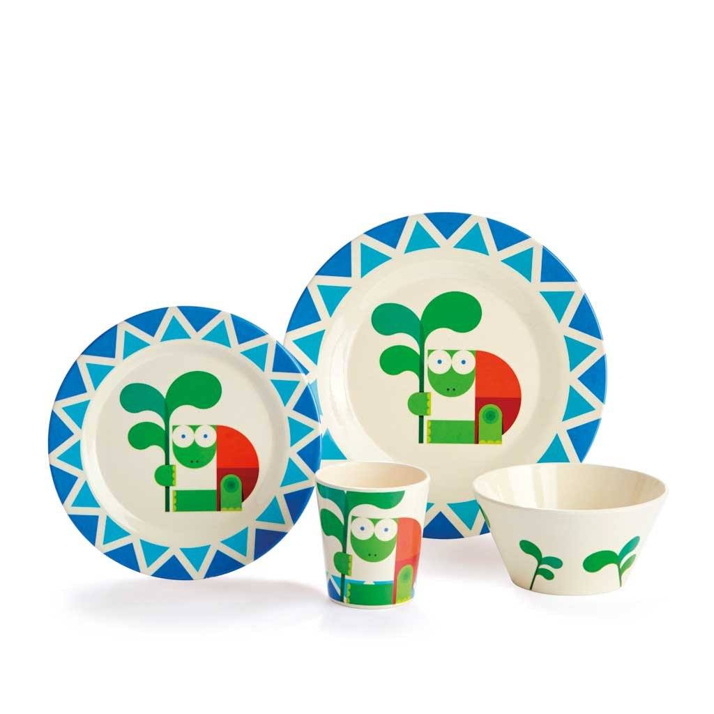 Kids Dishes | Wise Turtle - Eco Kids Dishware Eco Kids Dylan Kendall Gift box set