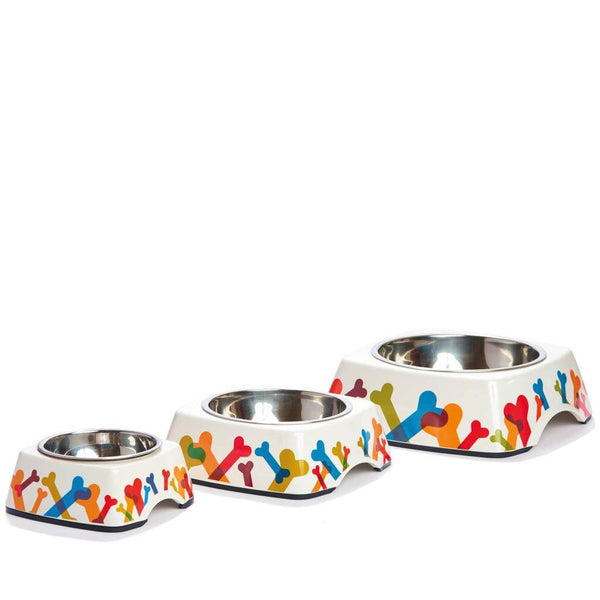 Pet Bowl | Bone Appétit: Eco-Friendly Bamboo Dog Pet Bowls with Stainless Steel Liner Eco Pet Dylan Kendall