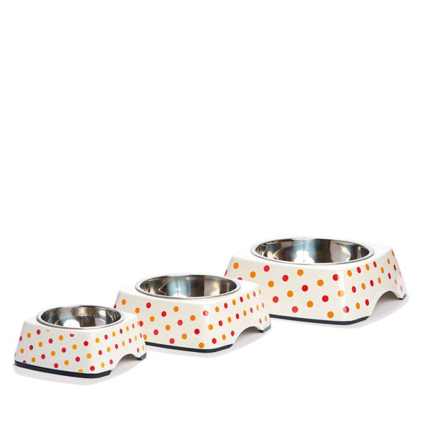 Pet Bowl | On the Dot: Eco Pet Bowls with Stainless Steel Liner Eco Pet Dylan Kendall