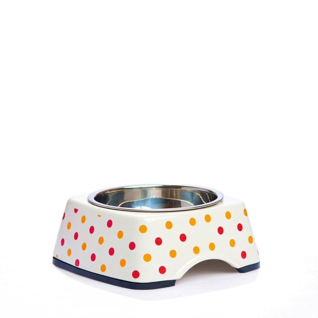 Pet Bowl | On the Dot: Eco Pet Bowls with Stainless Steel Liner Eco Pet Dylan Kendall Small