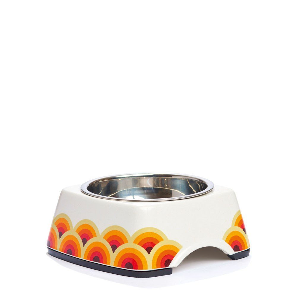 Pet Bowl | Riding the Wave - Eco Pet Bowls with Stainless Steel Liner Eco Pet Dylan Kendall Medium