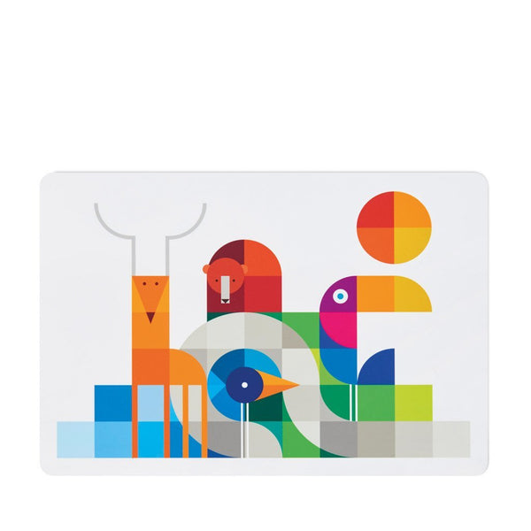 Placemat | Toucan, King of the Jungle - Sustainable, Safe Kids Placemat Kids Placemats Dylan Kendall