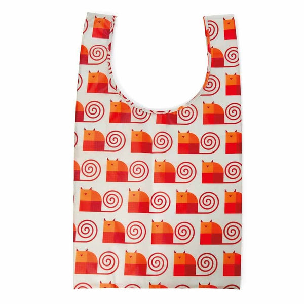 Shopping Tote | Fat Cat - Reusable Bagette™ Made from Recycled Plastic Bagette Dylan Kendall