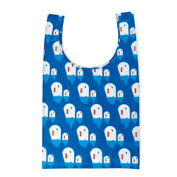 Shopping Tote | Polar Bear Parent - Reusable Bagette™ Made from Recycled Plastic Bagette Dylan Kendall