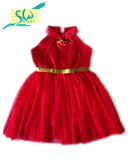 Dress Cheongsam Classic Red