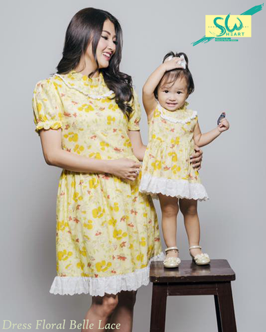 Dress Floral Belle Lace (Kids)