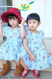 Dress Blue Flower (Kids)