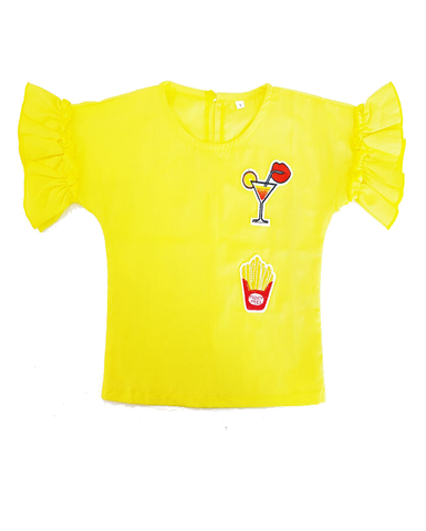 Blouse Patch Yellow (Kids)