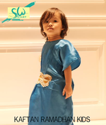 Kaftan Ramadhan Bright Red (Kids)