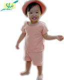 Set Cotton Waffle Peach (Kids)