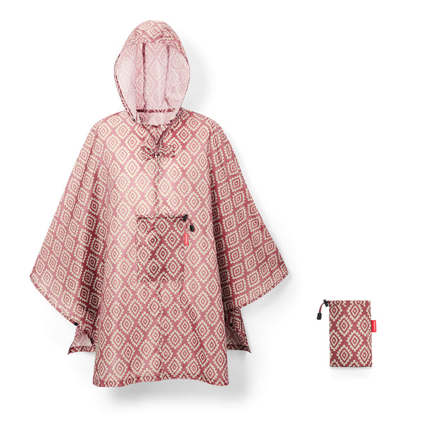 Mini Maxi Poncho Diamond Rouge