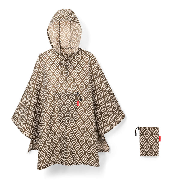Mini Maxi Poncho Diamond Mocha
