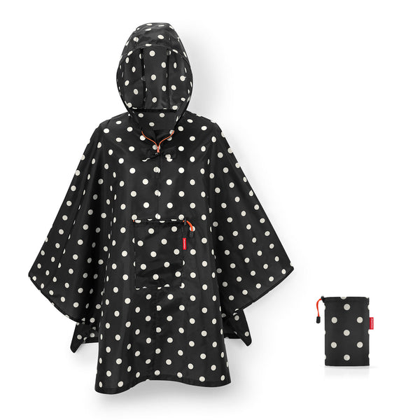 Mini Maxi Poncho Mixed Dots