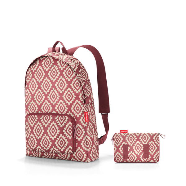 Mini Maxi Rucksack Diamonds Rouge
