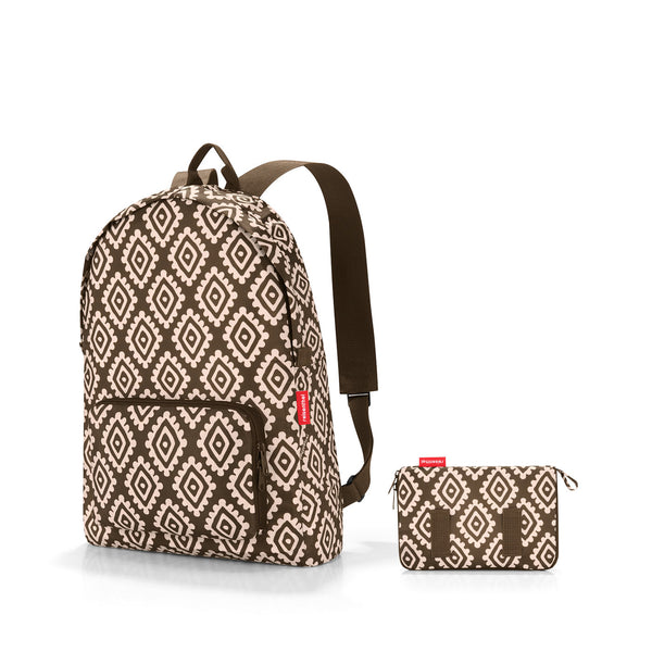 Mini Maxi Rucksack Diamonds Mocha