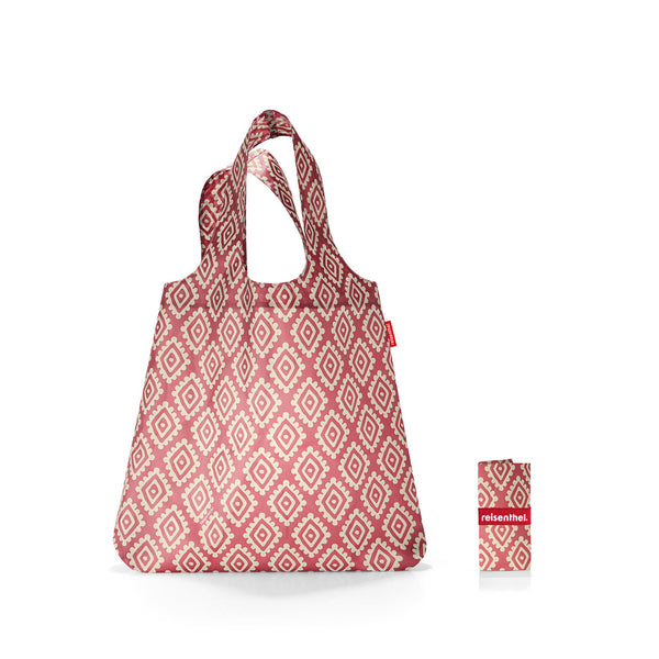 Mini Maxi Shopper Diamonds Rouge