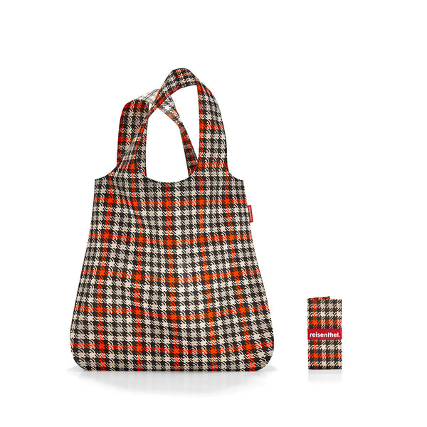 Mini Maxi Shopper Glencheck Red