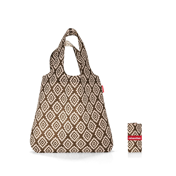 Mini Maxi Shopper Diamonds Mocha
