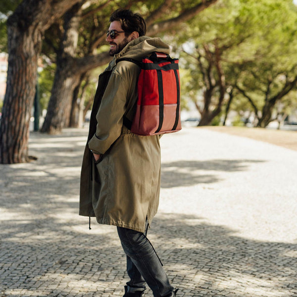 Daypack Canvas Russet