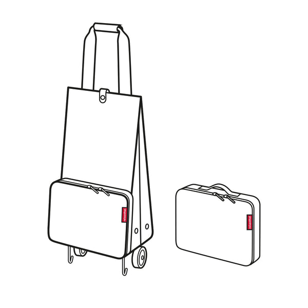 Foldable Trolley Diamond Rouge