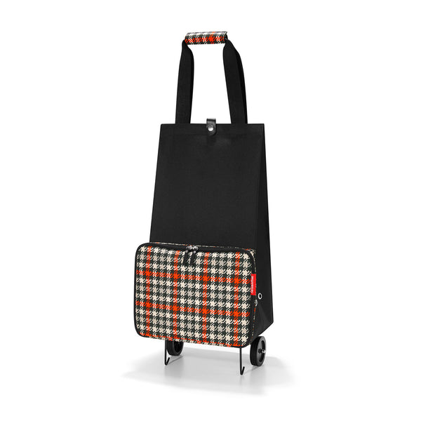 Foldable Trolley Glencheck Red