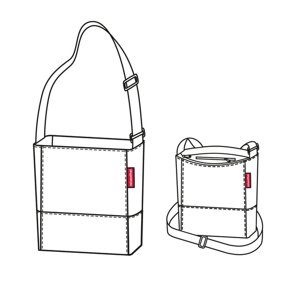 Shoulderbag S Diamond Rouge