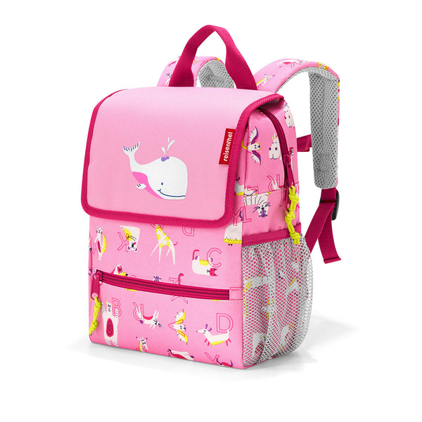 BackPack Kids ABC Friends Pink