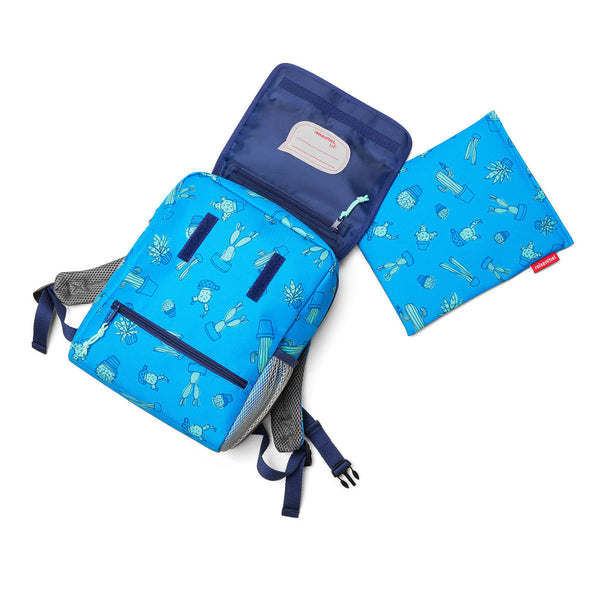 BackPack Kids Cactus Blue