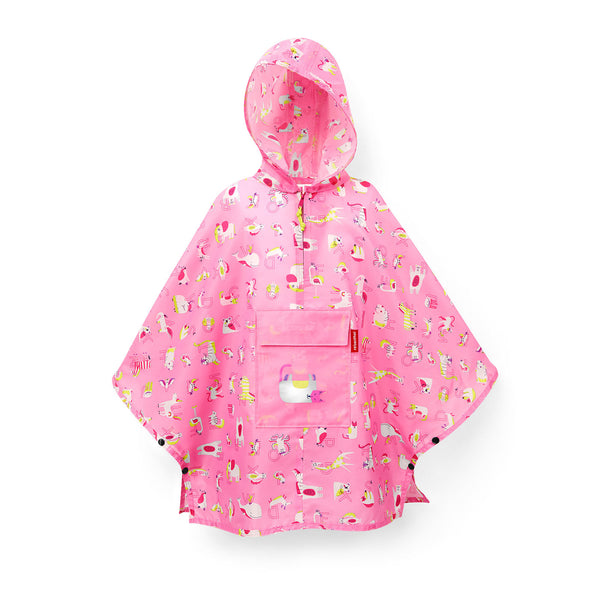 Mini Maxi Poncho M Kids ABC Friends Pink