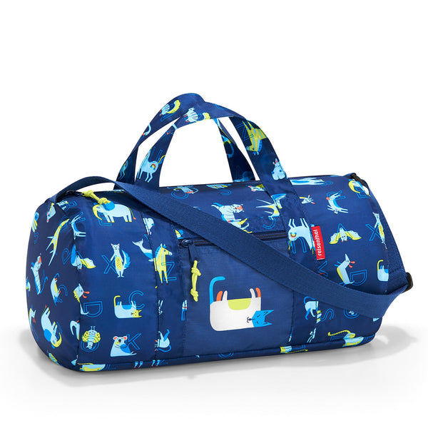 Mini Maxi Dufflebag S Kids ABC Friends Blue