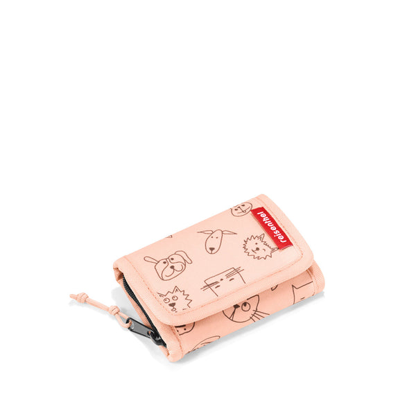 Wallet S Kids Cats & Dogs Rose