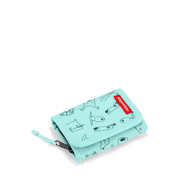 Wallet S Kids Cats & Dogs Mint