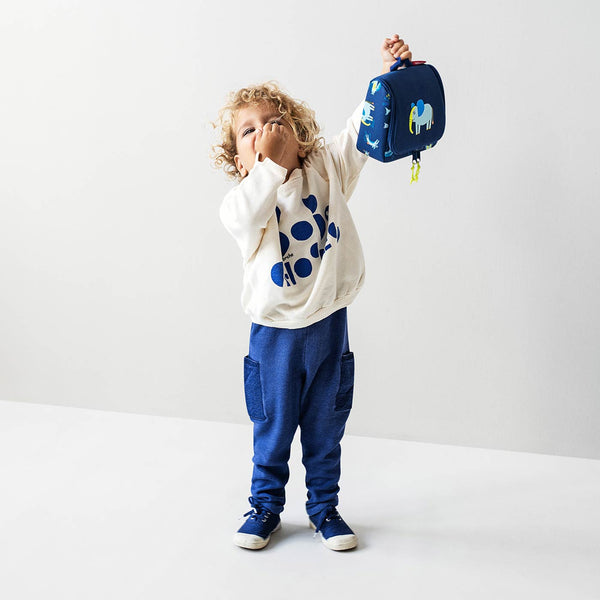 Toiletbag S Kids ABC Friends Blue