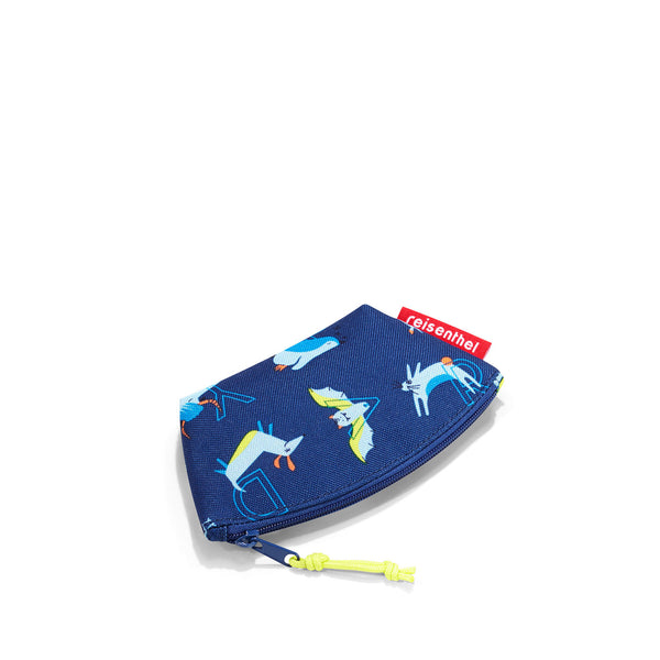 Coinpurse Kids ABC Friends Blue