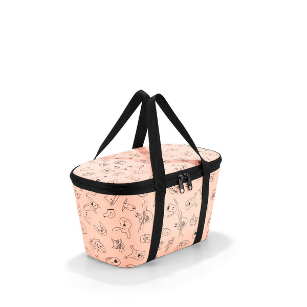 Coolerbag XS Kids Cats & Dogs Rose
