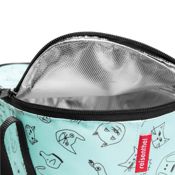 Coolerbag XS Kids Cats & Dogs Mint