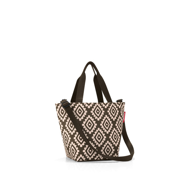 Shopper XS Diamonds Mocha