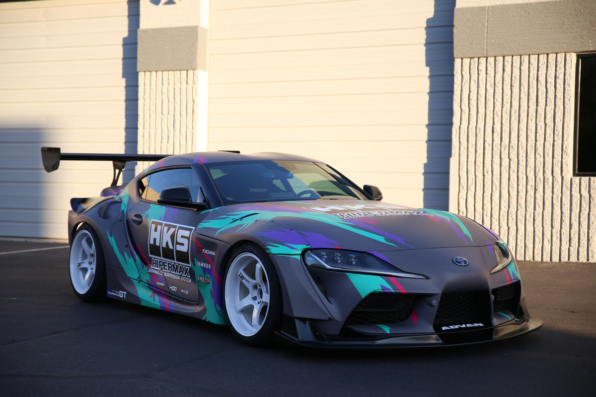 HKS PREMIUM BODY KIT TOYOTA GR SUPRA USA DEBUT