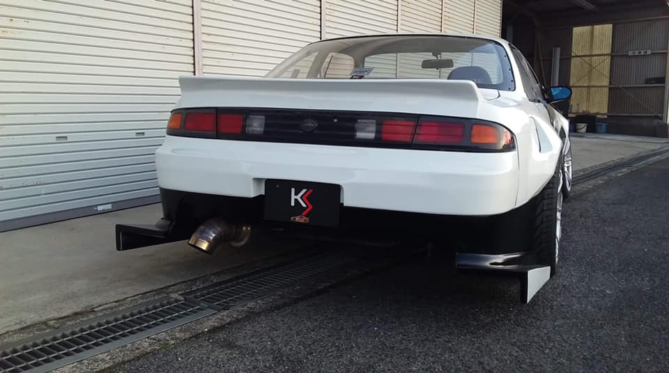 KS International NISSAN S14 SILVIA KOUKI (70mmWIDE)