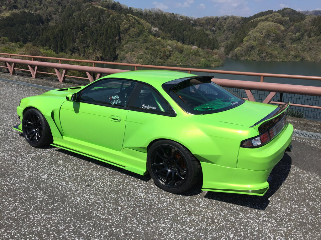 S14 KOUKI WIDE FENDERS