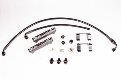 Radium Engineering 13+ Scion FR-S / Subaru BRZ OEM Configuation Fuel Rail Kit w/ PTFE Hose- Black