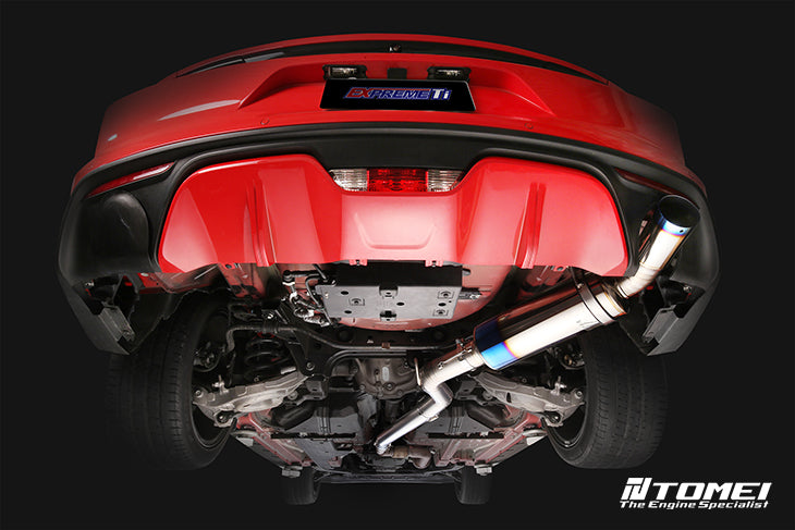 TOMEI NEW MUSTANG EcoBoost 2015+ FULL TITANIUM MUFFLER - Quickstyle Motorsports