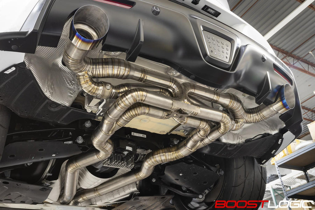 Boost Logic MKV Supra Titanium Exhaust
