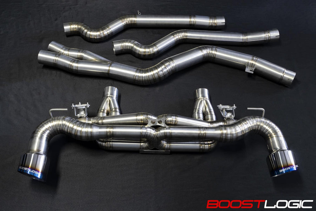 Boost Logic MKV Supra Titanium Exhaust a90 supra