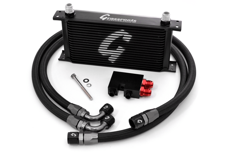 BMW E82/E90/E92/E93 N54 DIRECT-FIT 19-ROW OIL COOLER KIT