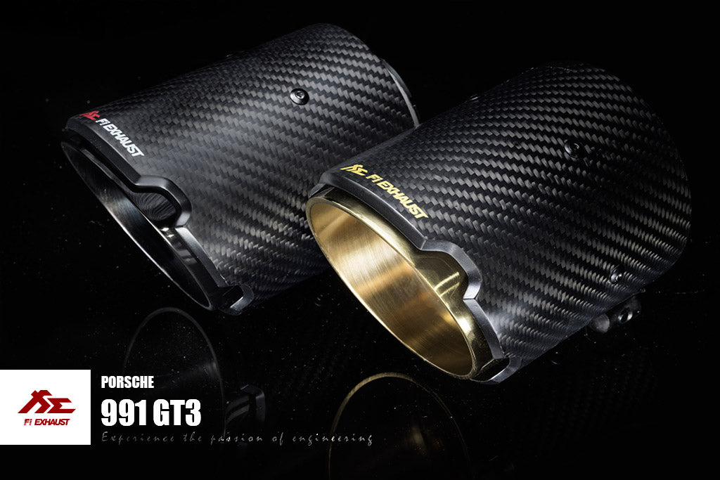 FI Exhaust Porsche 991.2 GT3 RS 2013+