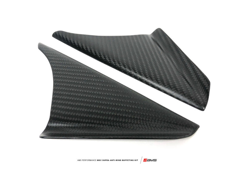 AMS Performance 2020+ Toyota GR Supra Anti-Wind Buffeting Kit Carbon
